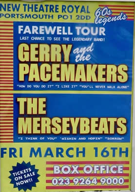 Image result for the merseybeats portsmouth